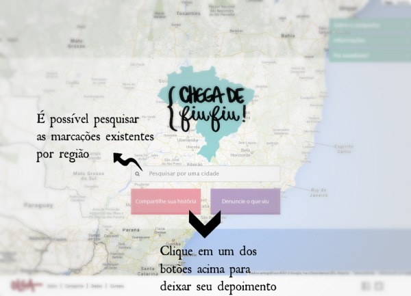 mapa chega de fiu fiu 01